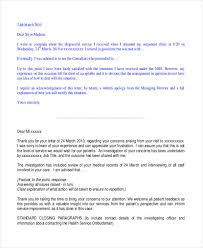 letter expressing concern 52 sample business letters free premium templates