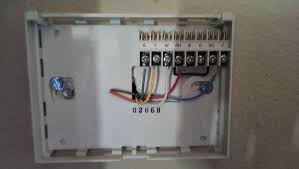 heat pump thermostat wire color code youtube at 8 wiring diagram 6 wire thermostat at Old Thermostat Wiring Color Codes
