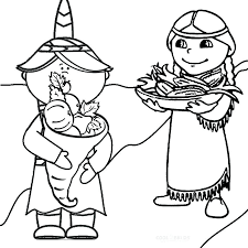 Pilgrim Girl Coloring Page Coloring Page Pilgrim Coloring Pages