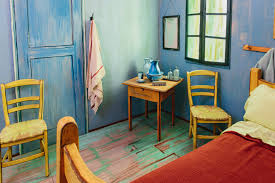 Painting The Bedroom Stay In A Life Size Replica Of A Van Gogh Painting For 10 A Night