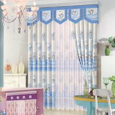Patterns For Valances Awesome Cute Dolphin Patterns Blue Curtains For BedroomNo Valance