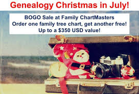 Bogo Chart Day 9 Of 12 Days Of Genealogy Christmas In July Saturday