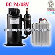 compresor. 24/48 volt dc kompresor ac compresor udara surya sistem pendingin untuk truk listrik ac u