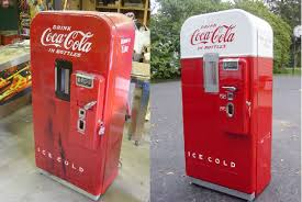 American Vending Machines St Louis Mo Magnificent Coke Machine Restoration CocaCola Machine Restoration Vintage