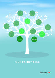 free family tree template 1 printable