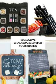 decorative chalkboards for various functions. Creative Chalkboard Diys For Your Kitchen Cover Decorative Chalkboards Various Functions