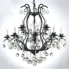 chandelier black crystal black chandelier replacement crystals