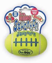 <b>Игрушка Kong</b> Air Dog <b>Squeaker</b> Football Мяч-регби большой для ...