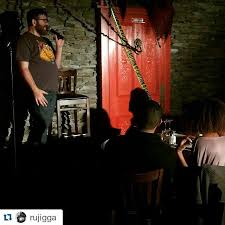mike lawrence dropped through last night the open door edy series is every monday at