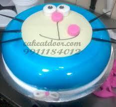 Doraemon Cartoon Designer Cake C124 Cakeatdoorcom
