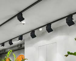 Can Light Be Black Track Light Led Can Be Adjusted Spotlight Wall Light Track