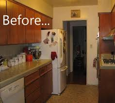 Kitchen Remodel Before And After Photos Before  After Kitchen - Small ugly apartments