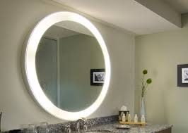 lighted wall mirror. perfect creative lighted bathroom mirror interesting wall for design ideas
