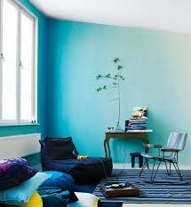 view in gallery blue ombre wall