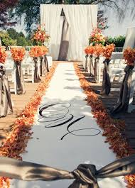 images of fall wedding decorations