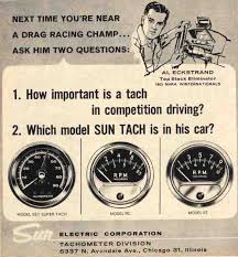 sun tachometer retrospective the 1947 present chevrolet gmc the rc model sun tachometers were the pioneers in performance tachs and were a must have accessory they were exceedingly popular in the 50 s and real race