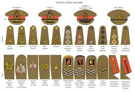 Army Ranking System Chart Her Majestys Services A Brief Guide To British Armed