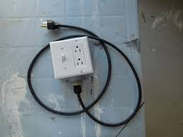 picture of diy extension cord with built in switch safe quick and simple