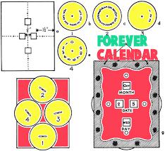 Forever Calendar Template Forever Calendar Template Photography Calendar