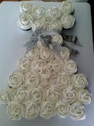Best Wedding Dress Cupcakes Ideas Pinterest Bridal Shower