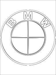 Logo Bmw Kleurplaten Gratis Kleurplaten