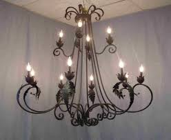 lighting gorgeous iron chandeliers rustic 14 chandelier design ideas wrought iron chandeliers rustic mexico