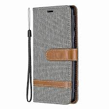 case for xiaomi redmi 7 case cowboy leather wallet flip cover for redmi 7 youth