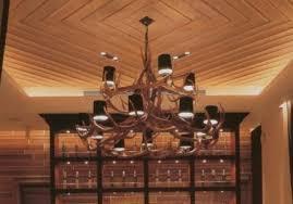 custom antler chandelier nobu restaurant japan
