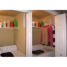 Laundry Hanging Bar Insta Hanger Laundry Room Organizer Ah12 Rah12 Bk 1499