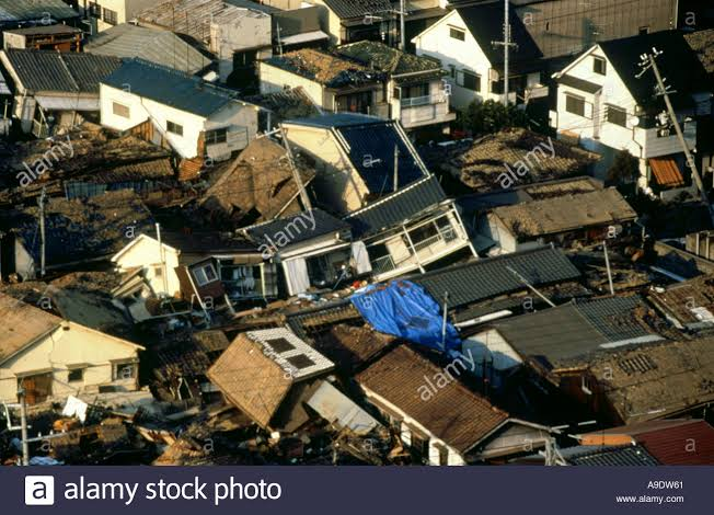 Kobe earthquake 1995 Japan Stock Photo - Alamy