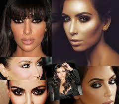 kim kardashian inspired make up tutorial for blondes