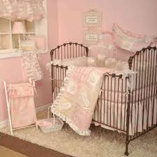 cotton tale designs heaven sent girl pink 4 piece crib bedding set