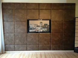 image of modern leather wall panels