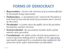 democracy in
