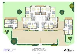 Beverly Hills Mansion Floor Plans Modern Villa Montrose Plan House Floor Plan Mansion