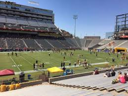 Sun Devil Stadium Section 31 Home Of Arizona State Sun Devils