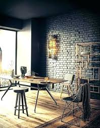 industrial style home office. Industrial Home Office An  With A Black Style C