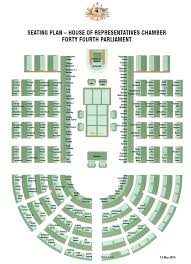 house of reps seating plan sea