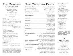 Wedding Reception Program Templates Unique Wedding Reception Program Ideas Locksmithnearmeus Com