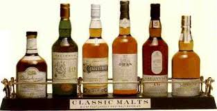 Classic Malts Display Stand THE SIX CLASSIC MALTS OF SCOTLAND from United Distillers review by 1