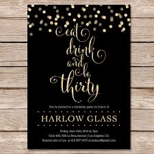 30th birthday party invitations to bring your dream party into your life 14