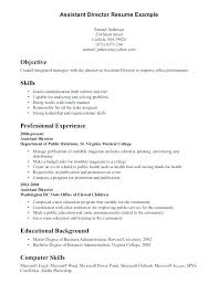 Skills And Abilities Examples Job Resume Knowledge Administrative