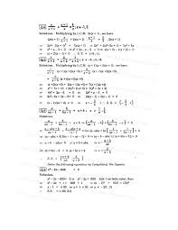 quadratic equation form 4 exercise tessshlo