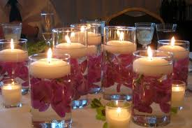 floating candles diwali decoration ideas