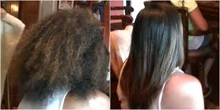 frizz free hair keratin treatment on natural hair straightening curly hair kimmy boutiki hair stylist fashion tips