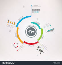 Spiral Timeline Infographics Vector Design Template