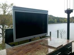 Liveable Outdoor Tv Stands Weatherproof Stand Soulful Cabinets As Wells Knowing More
