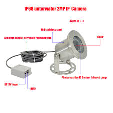 <b>Free shipping 304 Stainless</b> Steel 1080P IP68 Underwater POE IP ...