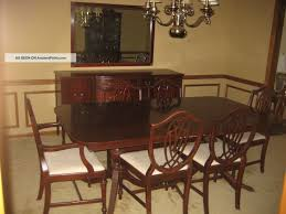 1930 S Duncan Phyfe 11 Piece Mahogany Dining Room Set 1900 1950
