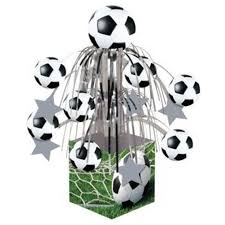 Mini Soccer Ball Decorations Fascinating Sports Fanatic Soccer Mini Cascade Centerpiece Birthday Party